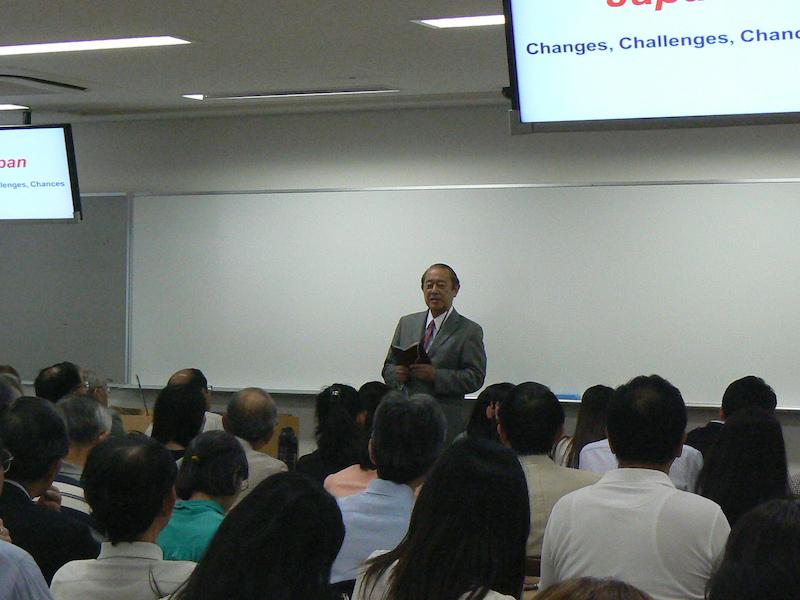 藤崎大使講演会2