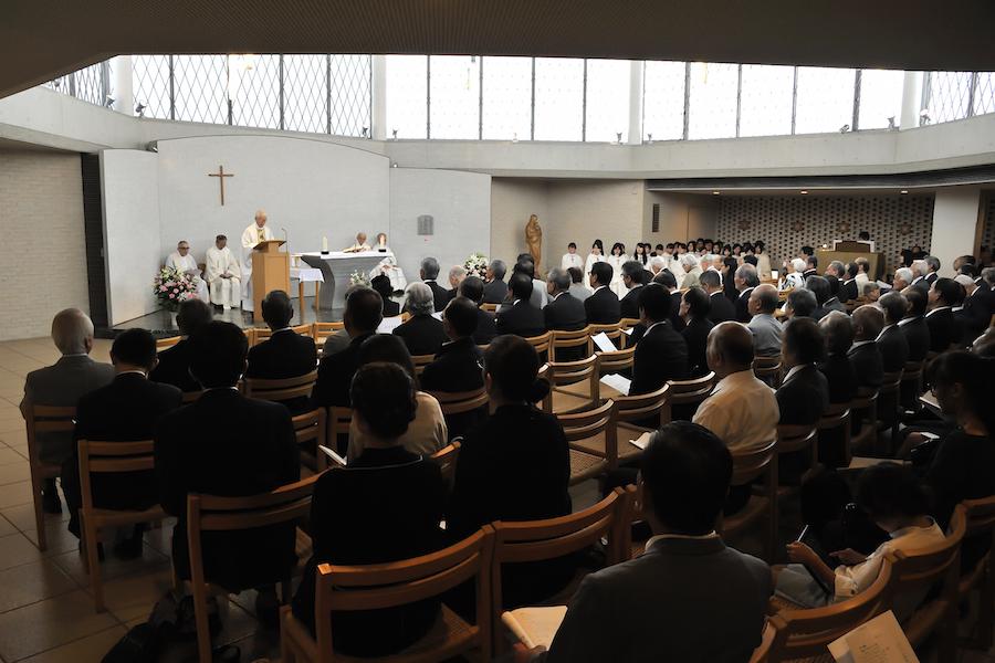 1_高祖司祭による追悼ミサ
