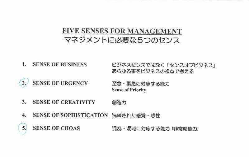 マネジメントに必要な5つのセンス430x273